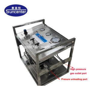 D'oxygène et de l'azote/CO2/l'Hélium Booster de pression de gaz