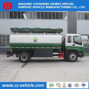 Isuzu Bowser carburant Chariot Mobile Camion de ravitaillement en carburant d'huile de 5000 litres pour la Zambie