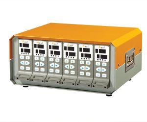 Faible coût à double contrôleur de température d'entrée numérique pour l'injection plastique