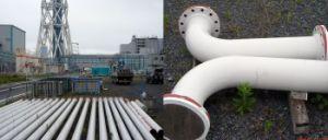 Sdp-021 Ceramic Steel Pipe per Steel Plants, Cement Plants e Power Plants