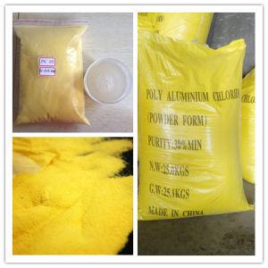 Het Chloride 30% Geel Poeder PAC van het poly-aluminium