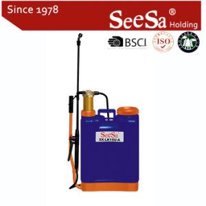 15lknapsack/Backpack Manual Hand Pressure Brass Cylinder Sprayer (SX-LK15U-A)