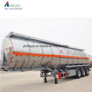 semirimorchio di alluminio del camion del serbatoio di combustibile dell'autocisterna dell'acciaio inossidabile 45000liters