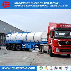 販売のための低価格25000litersの下水の吸引タンクトレーラー25m3