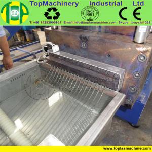 Trozo de plástico de botellas de PET Reciclado de PET máquinas de la línea de granulación