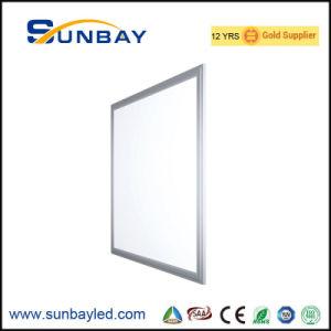 Factor de potencia de 0,95 600x600mm Panel LED 50W luz PMMA LGP