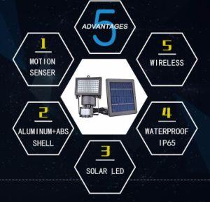 Nsl-60 PIRのSolar Energy機密保護ライト
