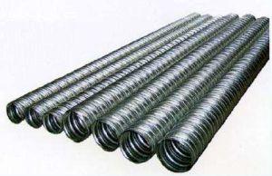 Tubo corrugado de metais galvanizados de ponte de betão pré-esforçado foles metálicos