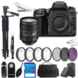 Wholesale cámara DSLR para D750 cámara DSLR con lente 24-120mm cámara digital