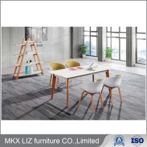 Nueva moda blanco de la pintura de cocción de la Oficina Ejecutiva de la madera (9925)
