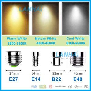 Überzogene Palstic G95 12W Aluminium360 runde Birne des Kugel-Licht-LED