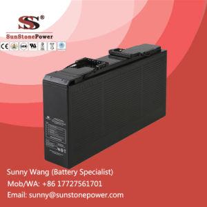 Доступ к передней части 12V герметичная необслуживаемая аккумуляторная батарея SLA AGM 150Ah