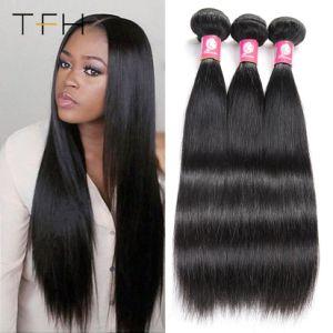 Commerce de gros 9un Brésilien d'un sèche cheveux humains droite de l'Armure vierge de haute qualité Remy Hair enchevêtrement libre des cheveux humains (FOH)