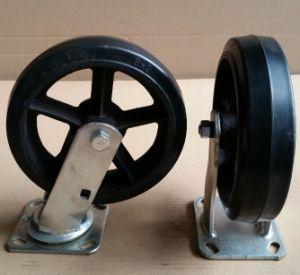 6en rueda de goma reforzado por el estilo americano (MR62S)