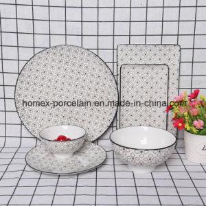 L'Ouest nouveau style de jeu de la vaisselle en céramique