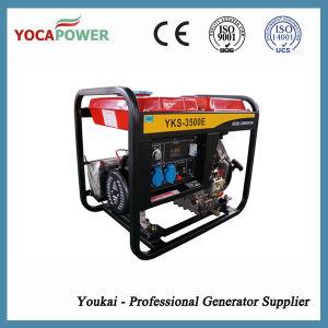3KW pequeno motor arrefecido a ar portátil grupo gerador diesel do gerador de energia