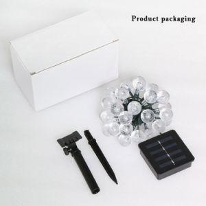生産ワンストップサービス7カラー庭装飾的なLEDストリングライト