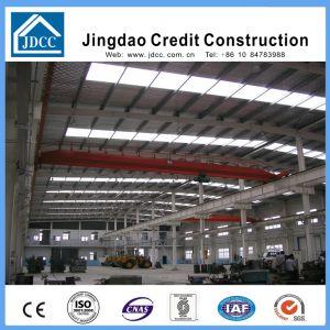 工場建物によって電流を通される軽い鉄骨構造