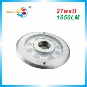 Protección IP68 LED de alta potencia bajo el agua de la luz de la fuente