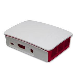 4 en 1 Pi 3 framboise modèle B+ (plus) + Boîtier en ABS + 5V 3A Alimentation Adaptateur de l'UE + Kit de dissipateur thermique