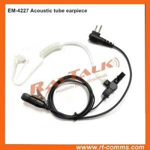Überwachung Kit Acoustic Tube Earpiece für Police Radio
