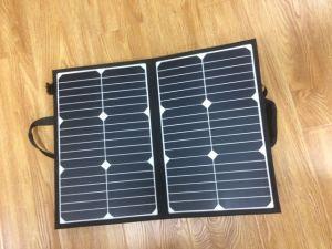 ラップトップの太陽充電器のSunpower 50WのFoldable太陽電池パネル