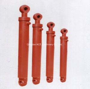 Cilindro hidráulico de acción único divisor largo cilindro cilindro Tractor
