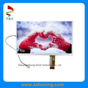 7 TFT LCD para leitor de DVD com 480*234 Resolução