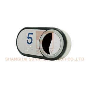 Прогрессивная элеватора при нажатии на кнопку детали из нержавеющей стали зеркала заднего вида поверхности (SN-PB115)