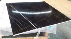 Nice pierre naturelle de couleur noir/ Panneaux d'Honeycomb en marbre