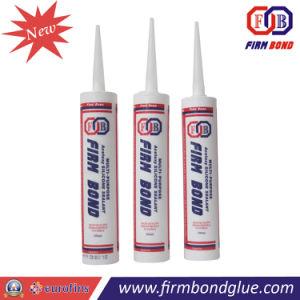 Boa resistência às radiações UV cola de silicone acético