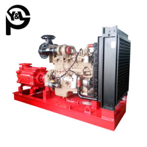 À plusieurs stades de la pompe incendie moteur diesel de pression pour système de lutte contre les incendies