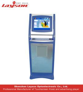 17~32/43/49/55/65インチの食糧命令の自己サービスビルの支払のタッチ画面のキオスク、表示、タッチスクリーンLCDデジタルの表記を広告する対話型情報