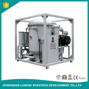 Marca Lushun 9000 litros/H de alta eficiencia de vacío de doble etapa purificador de aceite de transformadores con precios razonables.