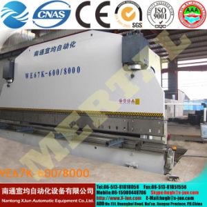 De de hydraulische Buigende Machine van de Plaat van het Staal/Rem van de Pers van de Pers Brake/CNC