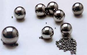 3,175 mm 1/8 G100 AISI 1015 faible pour les verrous à bille en acier au carbone