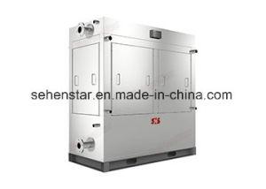 酪農場処理の蒸化器のための落下フィルムの枕版の熱交換器
