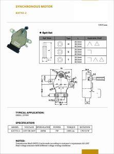 O controle da válvula de ar de Alto Torque estado baixo ruído de motor do forno
