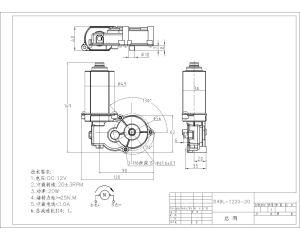 Limpiador PMDC Útil del Motor de la caja de cambios a Cinta de correr/Pulidora de piso/sillas elevadoras