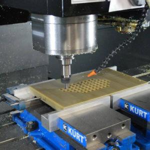 Pezzo meccanico di CNC del prototipo di alta precisione