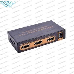 4K*2K@60Hz HDMI 2.0 Hdr HDMI 쪼개는 도구 1X2 가득 차있는 HD/3D