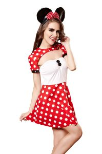 Erotic Costumes Sexy costume de Mickey Parti Cosplay adulte Lingerie Sexy Hot lingerie sexy nuisette