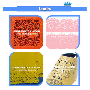 단화 /Cloth/ 상표 가죽을%s Laser 조각 그리고 절단기