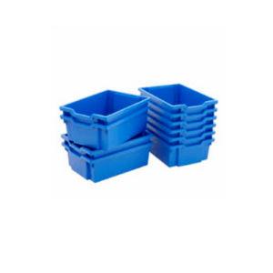 Kits de bandeja de coleta de empilhamento molde por grandes contentores