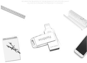 iPhoneのSamsung USBの外部ストレージのメモリのための3in1 Iflash駆動機構