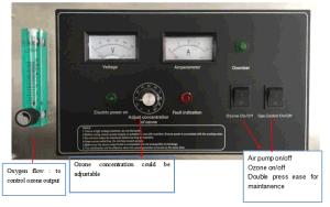 Maschine des Ozon-O3 für Industrieabfall-Wasserbehandlung