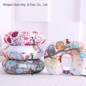 Cuidados para o pescoço impressas coloridas em U de fabricantes de almofadas de Viagem