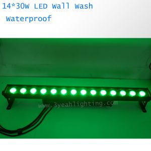14X30W de la pared de luz LED Wash RGB 3 en1
