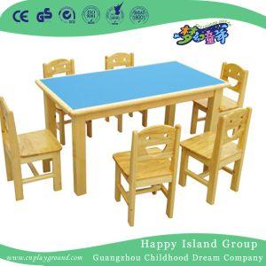 La escuela Azul de la tabla de madera ignífuga de escritorio para el niño (HG-4001)