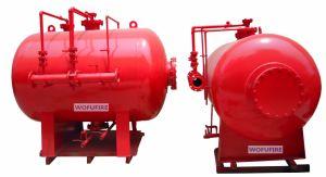 1000LTR het verticale Systeem van de Afschaffing van de Brandbestrijding van de Tank van de Blaas van het Schuim
